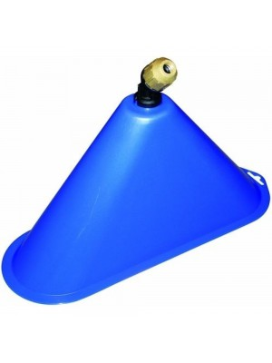 Campana diserbo per lancia pompa irroratrice getto ventaglio lunghezza cm.36