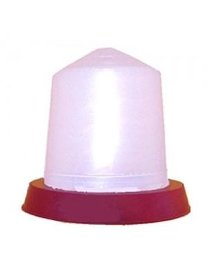 Abbeveratoio a sifone in plastica lt 5