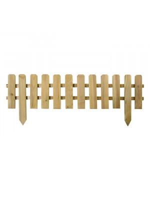 Recinzione in legno impregnato