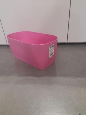 Vaso Idel living flowerbox 30 con sottocassetta