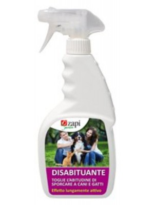 Zapi Disabituante Cani-Gatti 500 Ml Spray