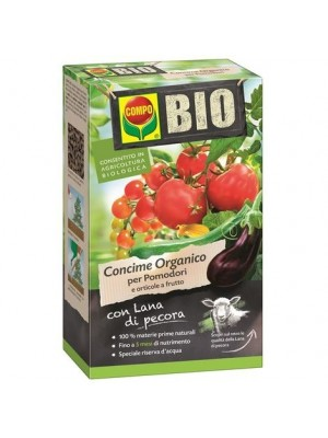 Compo concime organico per pomodori e orticole a frutto