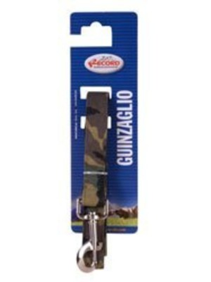 Guinzaglio nylon mimetico 25mmx120cm