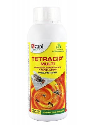 Tetracip multi insetticida concentrato a rapida azione e lunga protezione in confezione da 1 lt