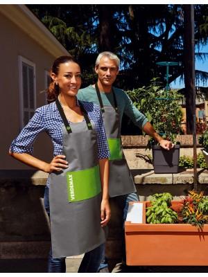 Grembiule in Poliestere Lavabile Verdemax per Giardinaggio e Bricolage