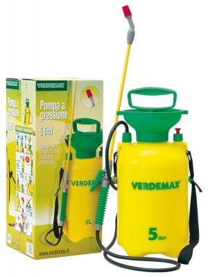 Pompa a Pressione Professionale Capacità 5 Litri con Valvola Sicurezza Verdemax
