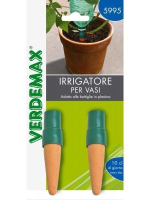 Irrigatore a Carotina per Vasi e Bottiglie Blister 2Pz