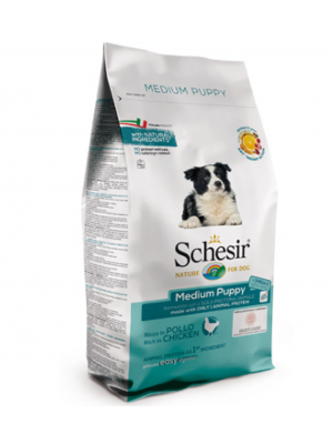Schesir medium puppy pollo 3 kg