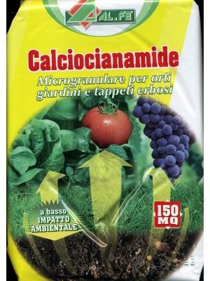 Calciocianamide granulare per orti, giardini, tappeti erbosi confezione da 5 kg