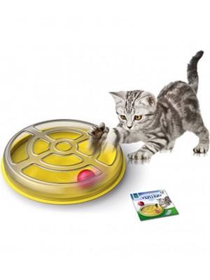 VERTIGO gioco con pallina per gatti diam 29x5h 10103