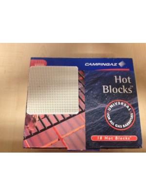 Blocchetti in ceramica per mantenere calore modello Hot Blocks da barbecue