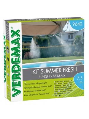 Kit Summer Fresh Sistema di Rinfrescamento Verdemax per Esterni