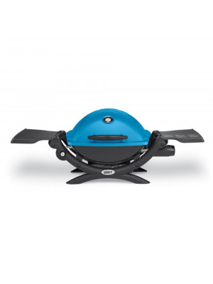 Barbecue Q 1200 blue con attacco per cartuccia