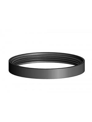 """Articolo fumisteria Linea """"Pellet"""": set n° 3 guarnizioni in silicone nero resistente fino a 220°, ø 80 mm"""