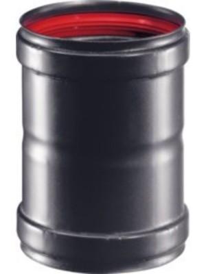 Manicotto 'Pellet' In Acciaio Fe Nero. Spessore 1,2 Mm. Per Uso Interno.
