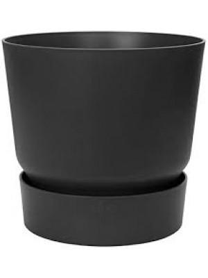 Elho Greenville Round 20 cm nero