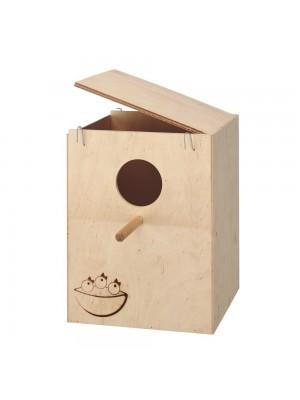 Nido in legno per canarini e esotici nido extra large