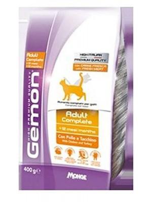 Mangime per gatti Gemon Cat Adult Complete Pollo E Tacchino Gr 400