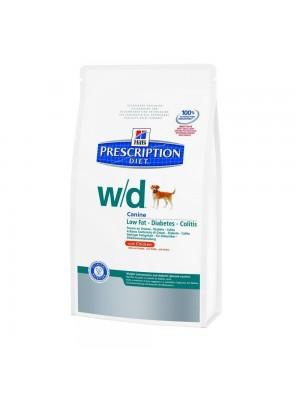 Hill's Prescription Diet Canine W/D Cibo Secco per Cani gusto pollo kg.1,5