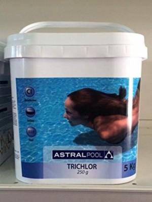 ASTRAL - 5 Kg Tricloro In Pastiglie Da 250 Gr Piscina