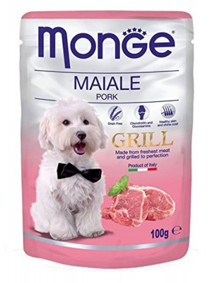 Monge Dog Grill Buste Maiale Gr.100