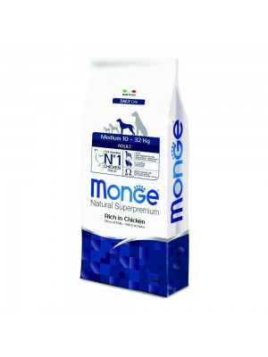 Monge Medium Adult al Pollo 12kg