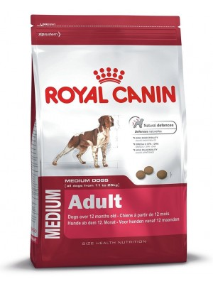 Royal Canin Adult Medium 15 Kilogramm Crocchette Per Cani Di Taglia Media