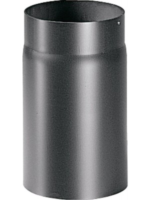 """Articolo fumisteria Linea """"Legna"""", canna fumaria: tubo L. 250 mm. Diam. 140 mm"""