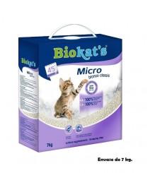Lettiera Biokat's Micro Bianca Argilla 7 kg