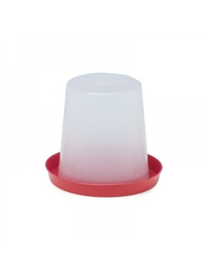 Abbeveratoio a sifone in plastica lt 3