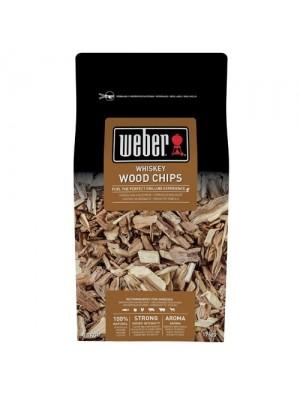 Weber chips per affumicatura aroma whiskey 0,7 kg