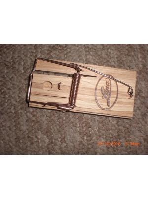 Trappola luna in legno per topi, talpe, piccoli roditori in genere