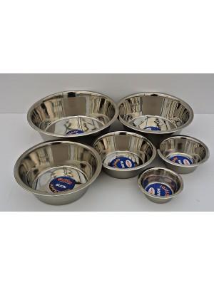 Ciotola per cani o gatti in acciaio inox cm 27,5 da 4 L