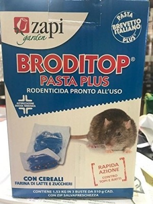 Zapi broditop pasta plus kg 1.53 - 3 pz