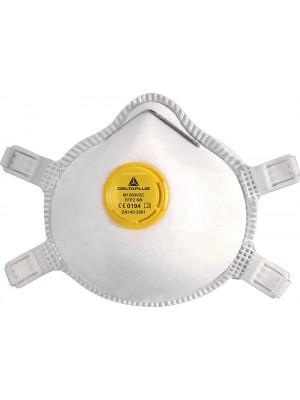 Mascherine maschera monouso FFP2 con valvola scatola 10 pezzi