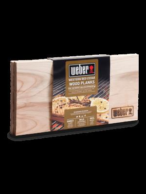 Weber panetto per affumicatura in cedro