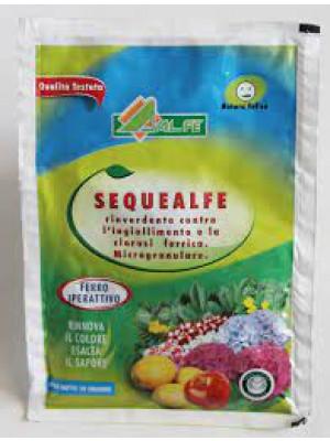 Sequealfe concime bio chelato di ferro rinverdente 250 gr
