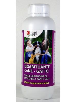 Disabituante per cani e gatti in granuli da 1 lt