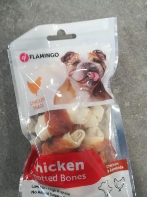 Flamingo ossa con pollo 85 gr