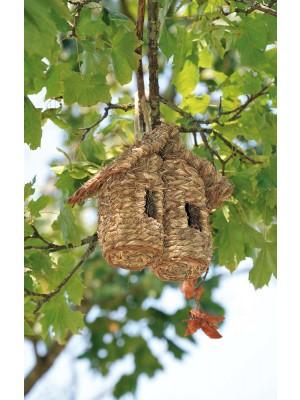 Casetta per Uccellini Bilocale 15 x 8 x H19cm Verdemax per Esterni