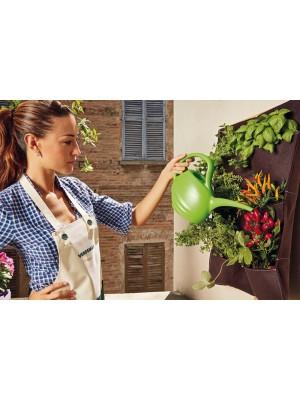 Innaffiatoio Capacità 2 Litri Verdemax in Plastica per Giardino ed Esterni