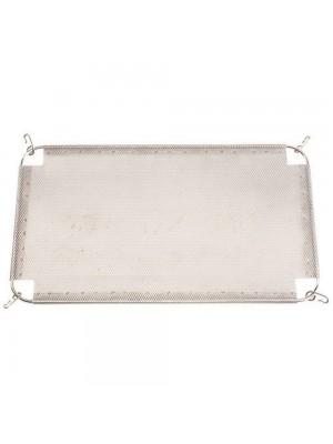 Griglia Tagliafiamma Universale per BBQ dimensione 24,2 x 42 cm