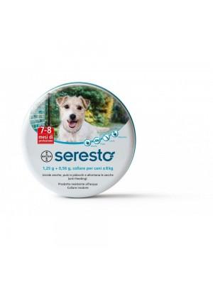 Collare Seresto di Bayer per cani fino a 8 Kg