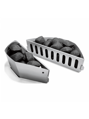 Weber set 2 cesti separa carbone
