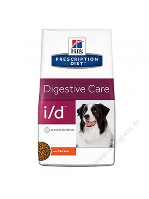 Hill's prescription diet canine I/d mangime secco per cani 2 kg