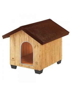 Cuccia per cane da giardino a forma casetta dimensione media