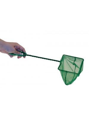 Retino per pesci verde wave 12cm