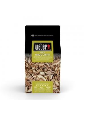 Weber chips affumicatura aroma mela