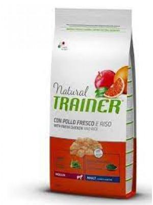 Natural trainer medium pollo 12,5 kg