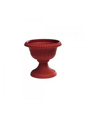 Vasi per piante in plastica colore terracotta H34x37 cm 4 pezzi